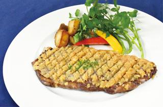 北海道産牛肉のシャリアピンステーキ