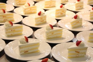 試食ケーキ