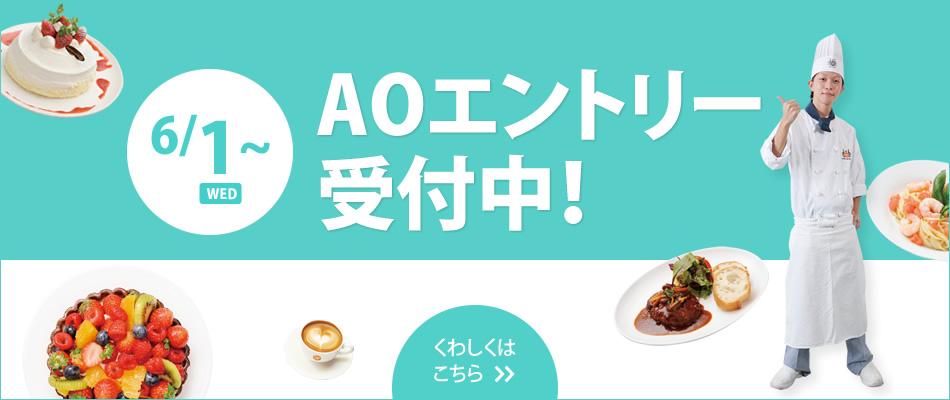 6/1〜AOエントリー&AO面談スタート!